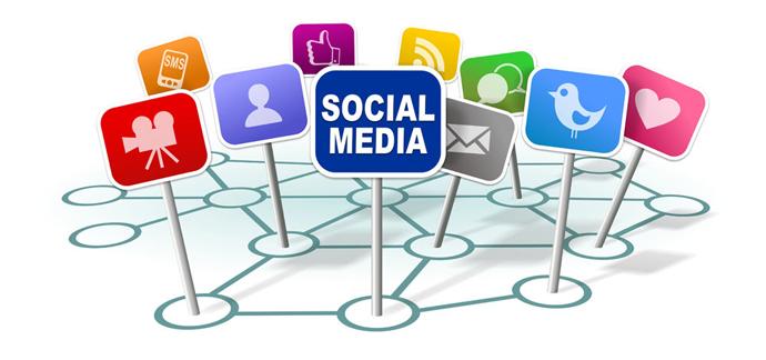 redes sociales y eventos