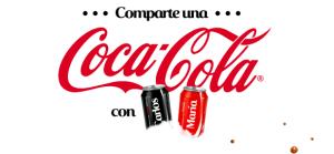 Comparte Coca Cola con