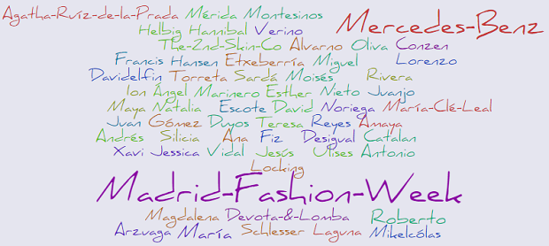 Madrid Fashion Week 2