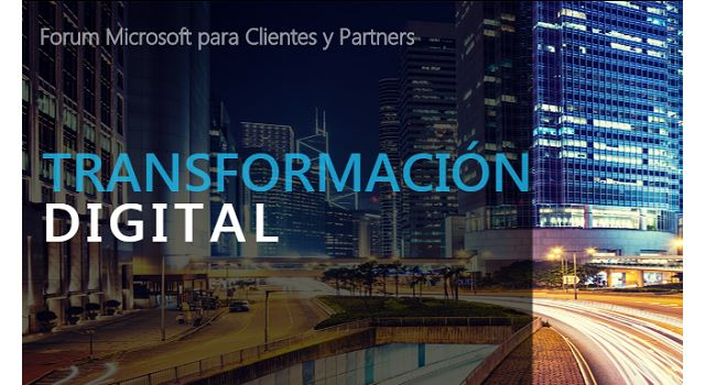 Transformación digital Forum Microsoft