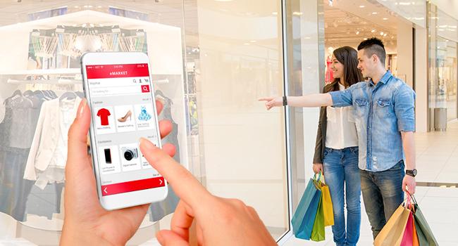 tecnología para tienda física como un ecommerce