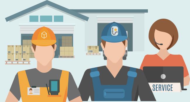Potentes herramientas y buenos técnicos de mantenimiento
