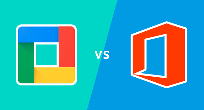 Office 365 vs. Google Suite