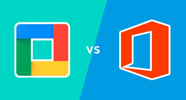Office 365 vs. Google Suite
