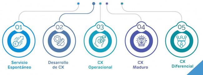Niveles de Customer Experience - Experiencia de Cliente