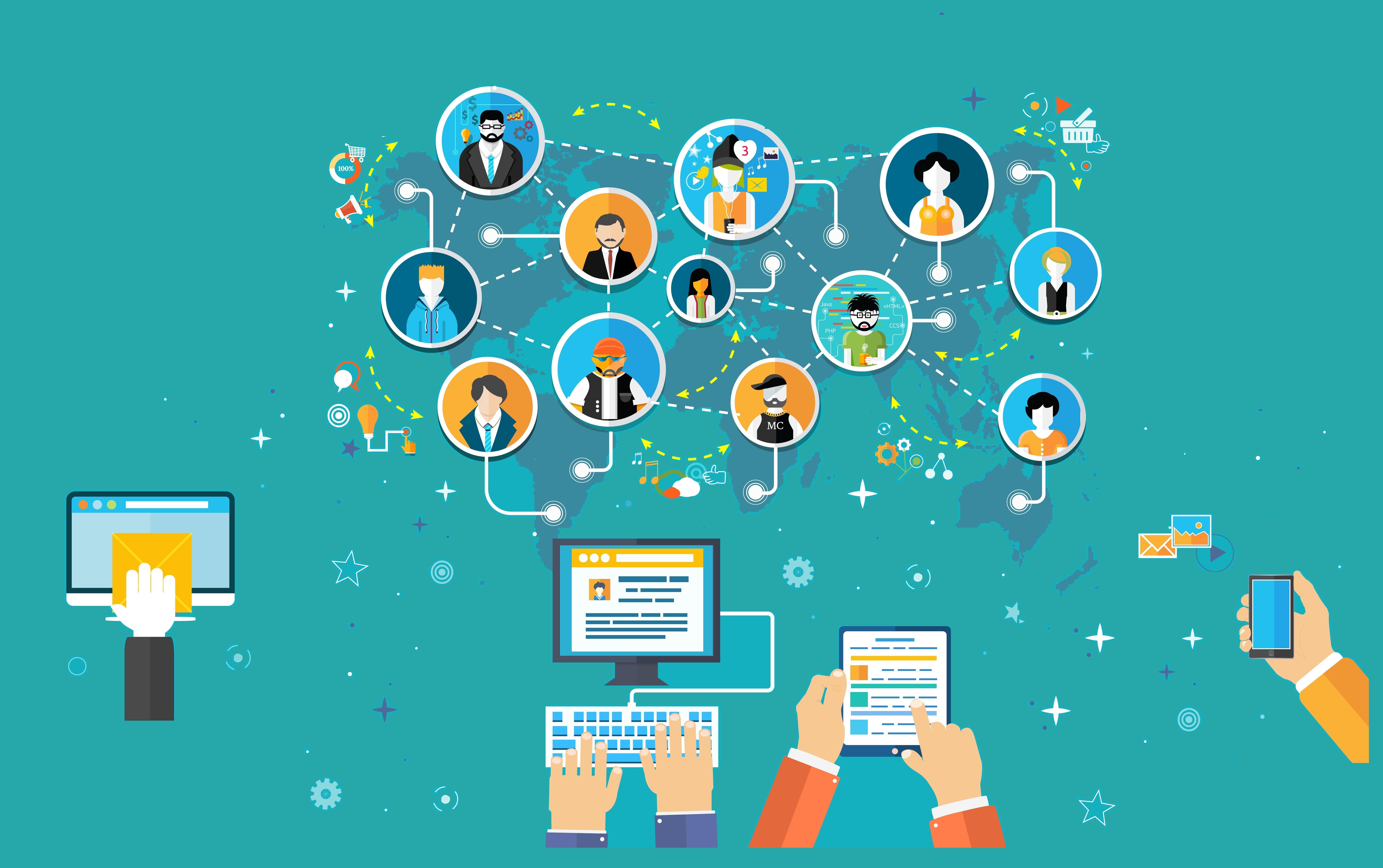 Aplicaciones de colaboración