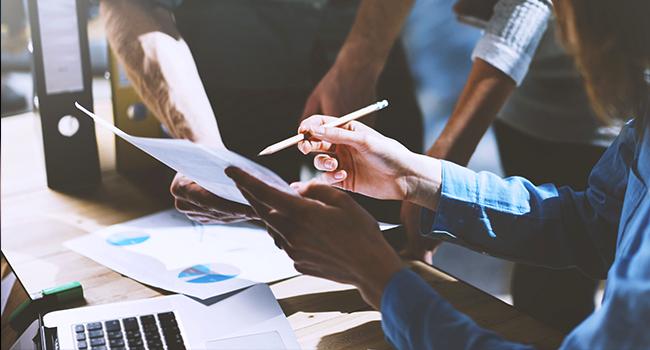 productividad y colaboración en una empresa