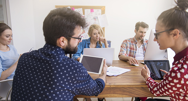 Comunicación entre tus empleados