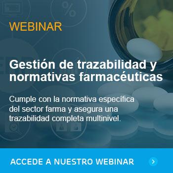 Gestión de trazabilidad y normativas farmacéuticas