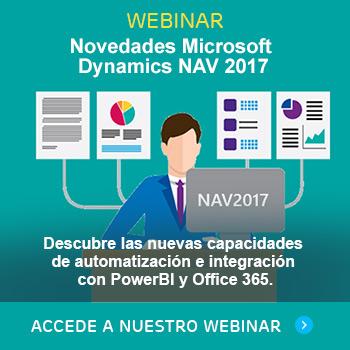 Novedades Microsoft Dynamics NAV 2017