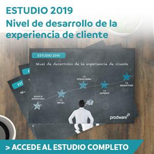 Estudio 2019: Desarrollo CX