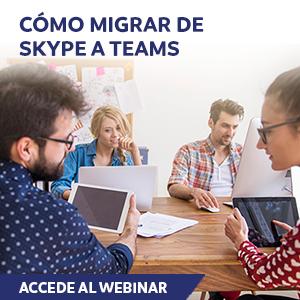 Cómo migrar de Skype a Teams